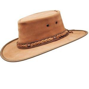 Barmah Squashy Bronco Outback Hat - Hickory