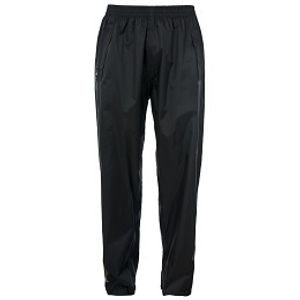 Trespass Adult Qikpac Waterproof Trousers - Black