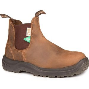 Blundstone CSA Greenpatch Steel Toe Boot(164) - Crazy Horse