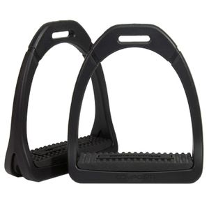Compositi Premium Profile Stirrups - Black