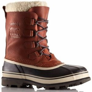 Sorel Men's Caribou Wool Liner Boots - Tobacco
