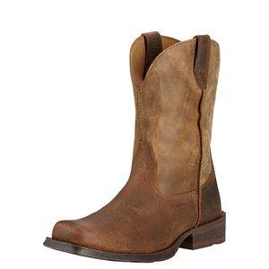 Ariat Men's  Rambler Square Toe Boots - Earth