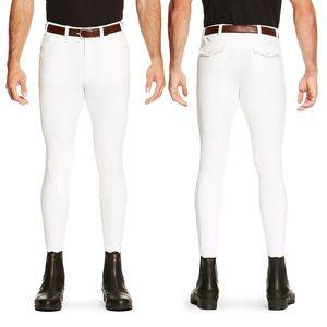 Ariat Men's Heritage Elite Classic Breech - White