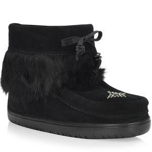 Manitobah Mukluks Women's Waterproof Keewatin Boots - Black