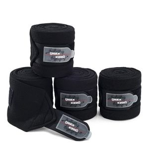 Eskadron Fleece Polo Wraps - Black