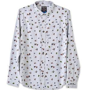 Kavu Men's Linden Shirt - Sasquatch