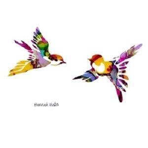 Hannah Hicks Art Card - Chickadees