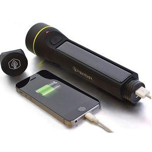 Hybridlight The Journey 250 Hybrid Solar Flashlight - Black