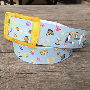 C4 Horse Emoji Belt