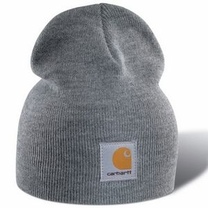 Carhartt Men's Acrylic Knit Hat - Heather Gray
