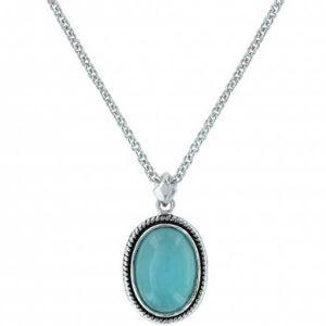 Montana Silversmiths Misty Blue Pool Necklace