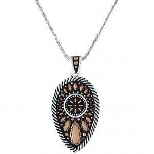 Montana Silversmiths Sunset Prairie Clover Necklace