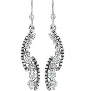 Montana Silversmiths Sparkling Pathway Earrings