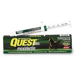 Quest Gel (Moxidectin) Dewormer (Equine use only)