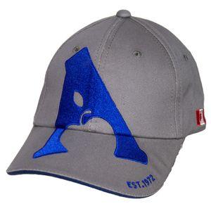 Apple Saddlery Ball Cap - Grey/Navy