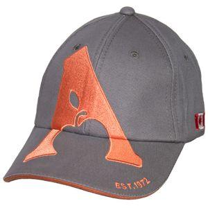 Apple Saddlery Ball Cap - Grey/Salmon