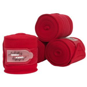 Eskadron Fleece Polo Wraps - Chili Red