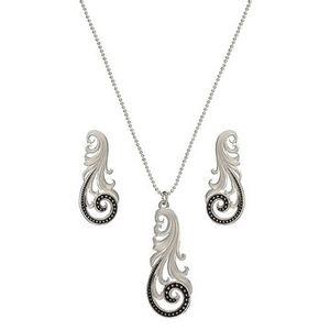 Montana Silversmith Western Lace Whisper Jewelry Set