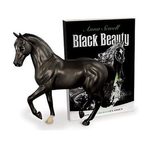 Breyer Freedom Series Black Beauty Model and Book Set