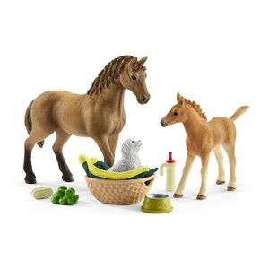 Schleich Sarah's Baby Animal Care