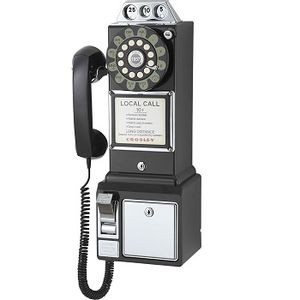 Crosley 1950's Payphone - Black