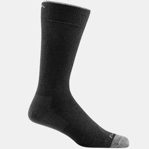 Darn Tough Men's Solid Crew Light Cushion Socks - Black