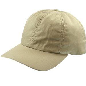 Crown Cap Adjustable Cotton Twill Baseball Cap - Khaki