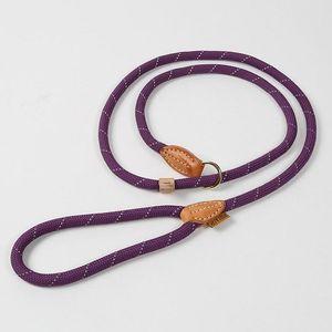 Digby & Fox Reflective Dog Lead - Purple