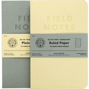 Field Notes Signature Edition - Plain