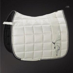 Eskadron Platinum Edition Big Square Glossy Dressage Pad- Silkgrey(11)