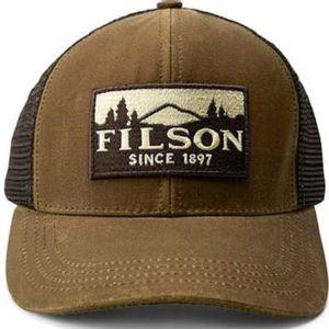 Filson Men's Logger Mesh Cap - Dark Tan