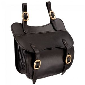 Australian Outrider Collection Leather Saddle Pocket - Brown