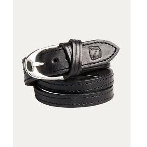 Noble Outfitters Stirrup Wrap Bracelet - Black/Silver