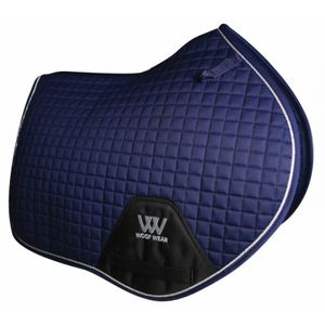 Woof Wear Colour Fusion C/C Saddle Pad - Navy Blue