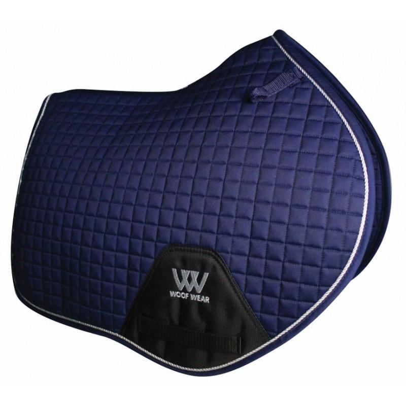 Woof-Wear-Colour-Fusion-C-C-Saddle-Pad---Navy-Blue-24006