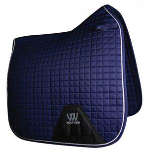 Woof Wear Colour Fusion Dressage Saddle Pad - Navy Blue