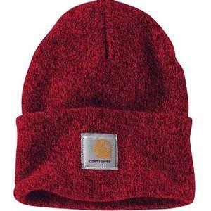 Carhartt Men's Acrylic Watch Hat - Red/Navy