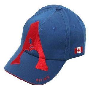 Apple Saddlery Ball Cap - Blue/Red