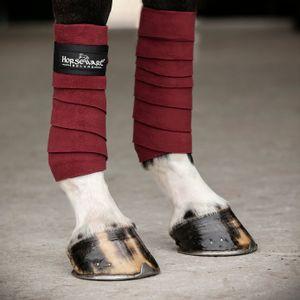Horseware Fleece Polo Wraps - Royal/Silver