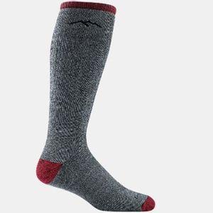 Darn Tough Men's Mountaineering Over The Calf Socks - Smoke