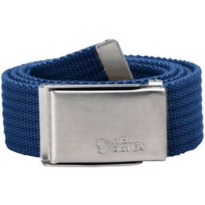Fjallraven Unisex Merano Canvas Belt - Deep Blue