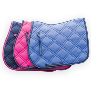 Loveson A/P Saddle Pad - Pink/Navy