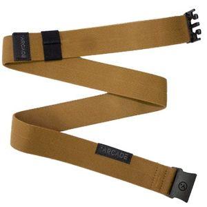 Arcade Ranger Slim Belt - Metal Brown