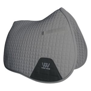 Woof Wear Colour Fusion A/P Saddle Pad - Brushed Steel