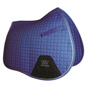 Woof Wear Colour Fusion A/P Saddle Pad - Electric Blue