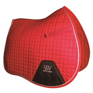 Woof Wear Colour Fusion A/P Saddle Pad - Royal Red