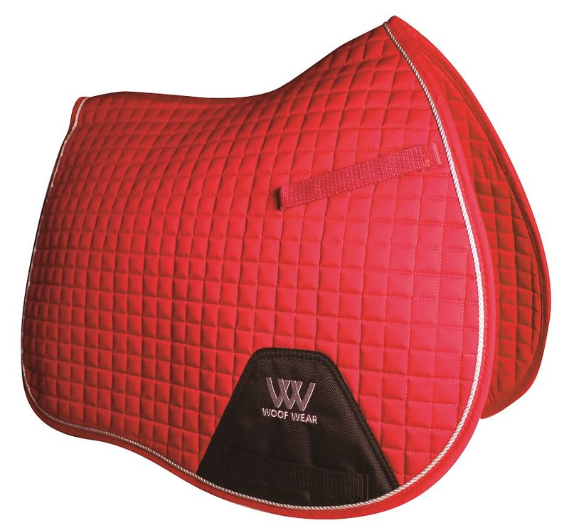 Woof-Wear-Colour-Fusion-A-P-Saddle-Pad---Royal-Red-44932