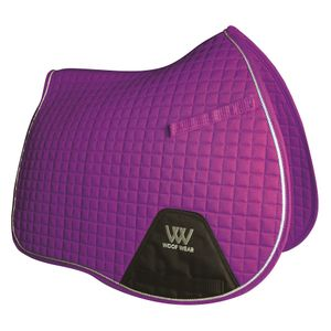 Woof Wear Colour Fusion A/P Saddle Pad - Ultra Violet