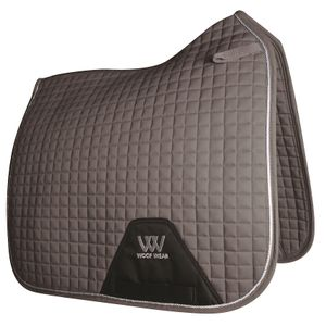 Woof Wear Colour Fusion Dressage Saddle Pad - Brushed Steel