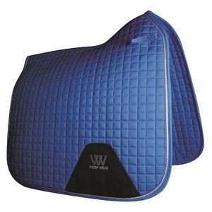 Woof Wear Colour Fusion Dressage Saddle Pad - Electric Blue